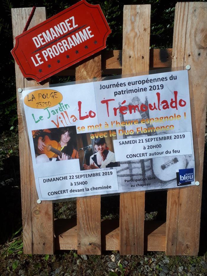 Journées du patrimoine 2019 - Lo Trémoulado se met à l'heure espagnole avec le Duo Flamenco
