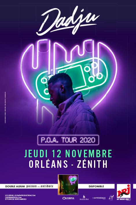 Dadju : P.O.A Tour 2020 (Annulé)