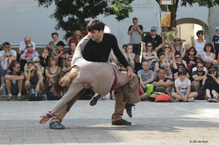 Journées du patrimoine 2020 - Danse contemporaine en rue - Ta peau comme le ciel