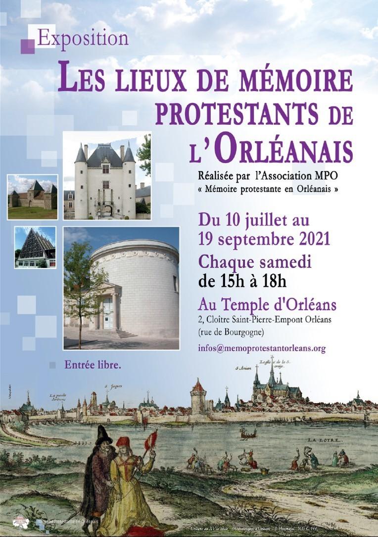 Les lieux de mémoire protestants de l'Orléanais