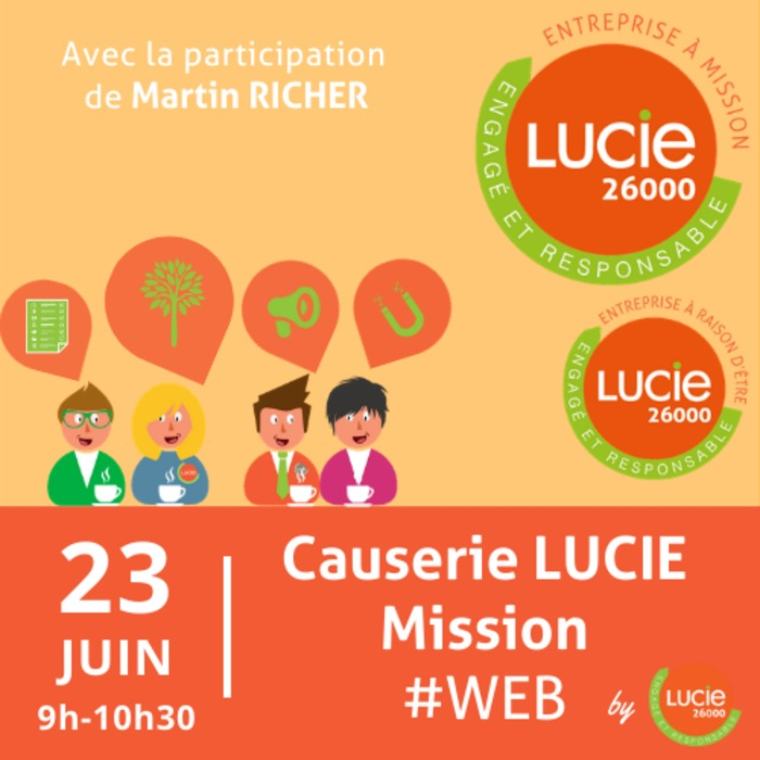 Causerie web LUCIE Mission by LUCIE
