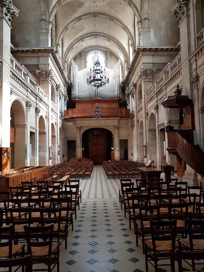 Journées du patrimoine 2019 - Visites commentées des richesses architecturales de l'Oratoire du Louvre