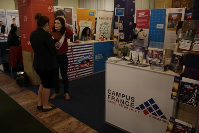 "Campus France Roumanie présentera un pavillon ""Bienvenue en France"" au Romanian International University Fair à Bucarest, Iasi, Brasov et Cluj-Napoca"