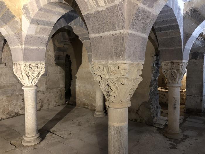 Journées du patrimoine 2020 - Visite libre de la crypte de l'abbaye de Mozac