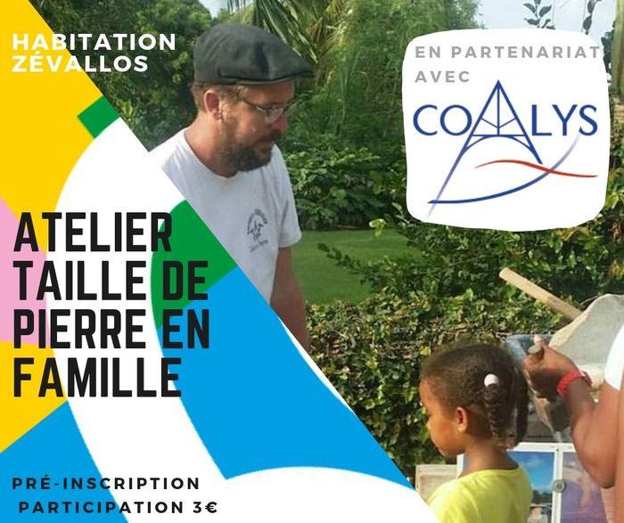 Journées du patrimoine 2019 - Atelier taille de pierre Parent-Enfant à Zévallos