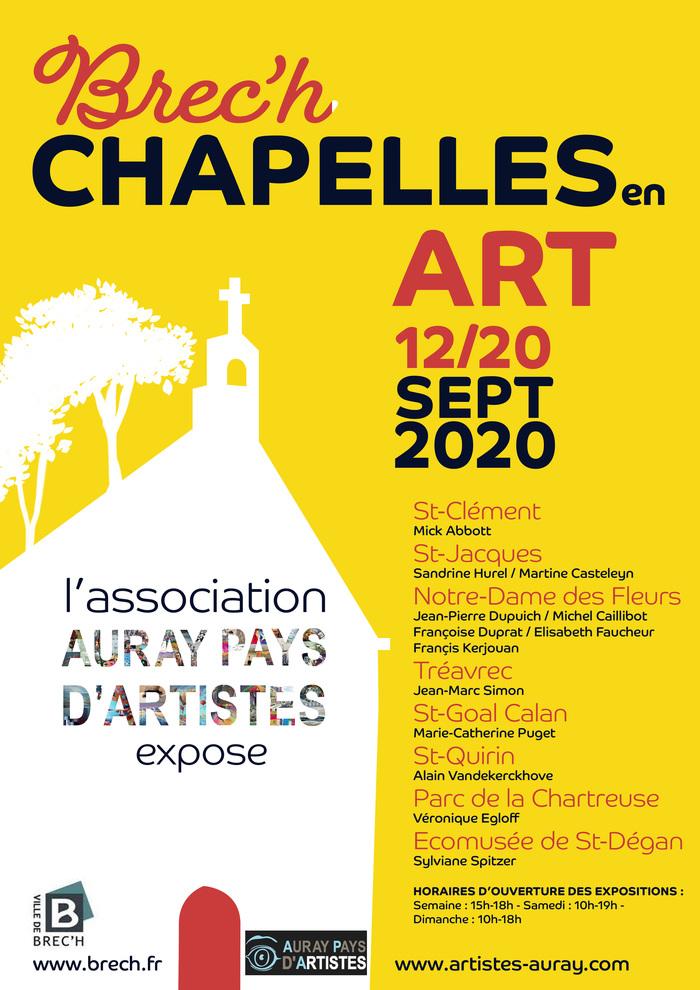 Journées du patrimoine 2020 - Chapelles en Art : Un parcours d'art unique dans le Pays d'Auray / Chapelle Saint-Jacques