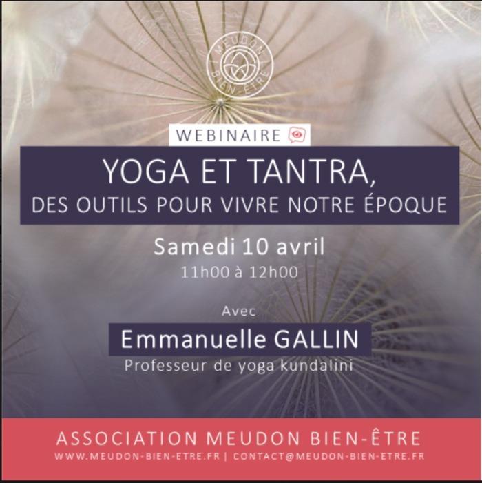 En cette période tourmentée qui met à l'épreuve nos ressources, le yoga et le tantra apparaissent comme des outils incontournables nous permettant de retrouver un lien avec nous-même et avec notre vie
