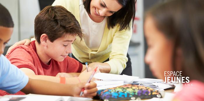 Stages réussite scolaire pendant les vacances d'automne : collège