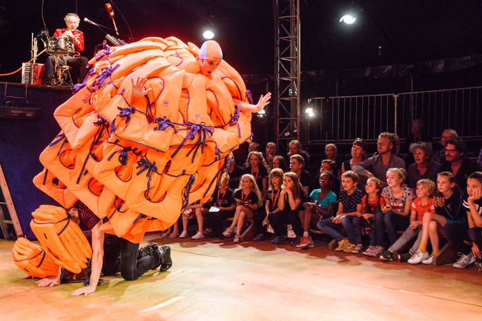 Journées du patrimoine 2019 - Haute heure - cirque acrobatique par la Cie Barolosolo