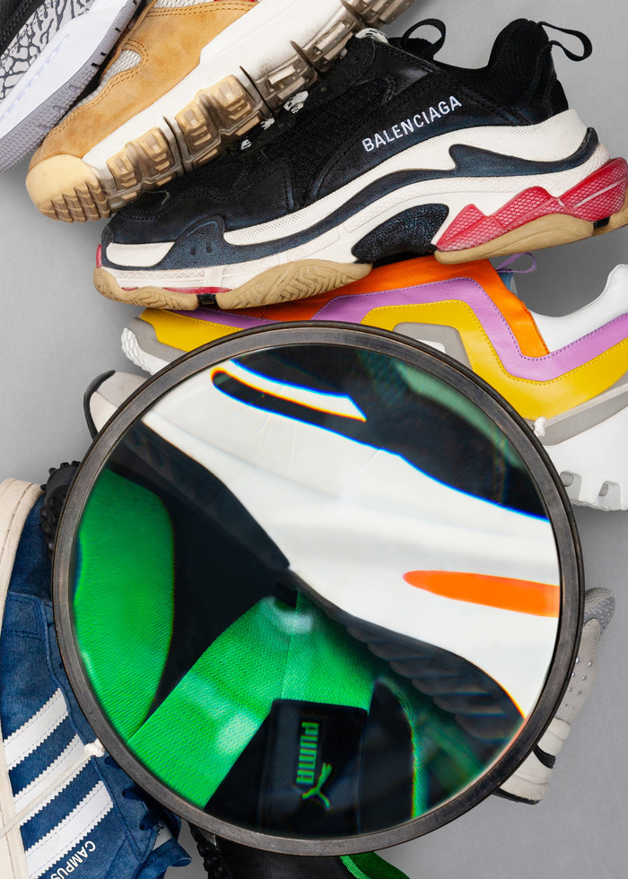 Playground – Le design des sneakers