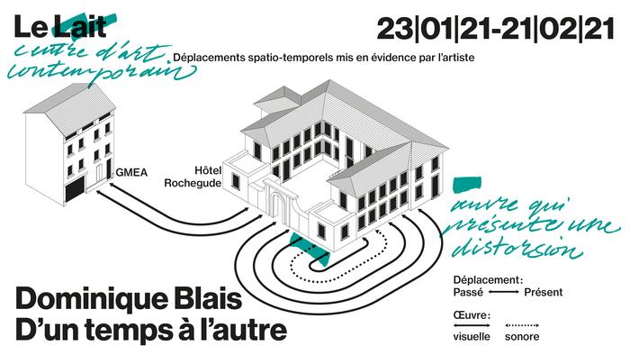 Pour cette exposition inédite, Dominique Blais présente un ensemble d'oeuvres issues de la première résidence croisée avec le GMEA