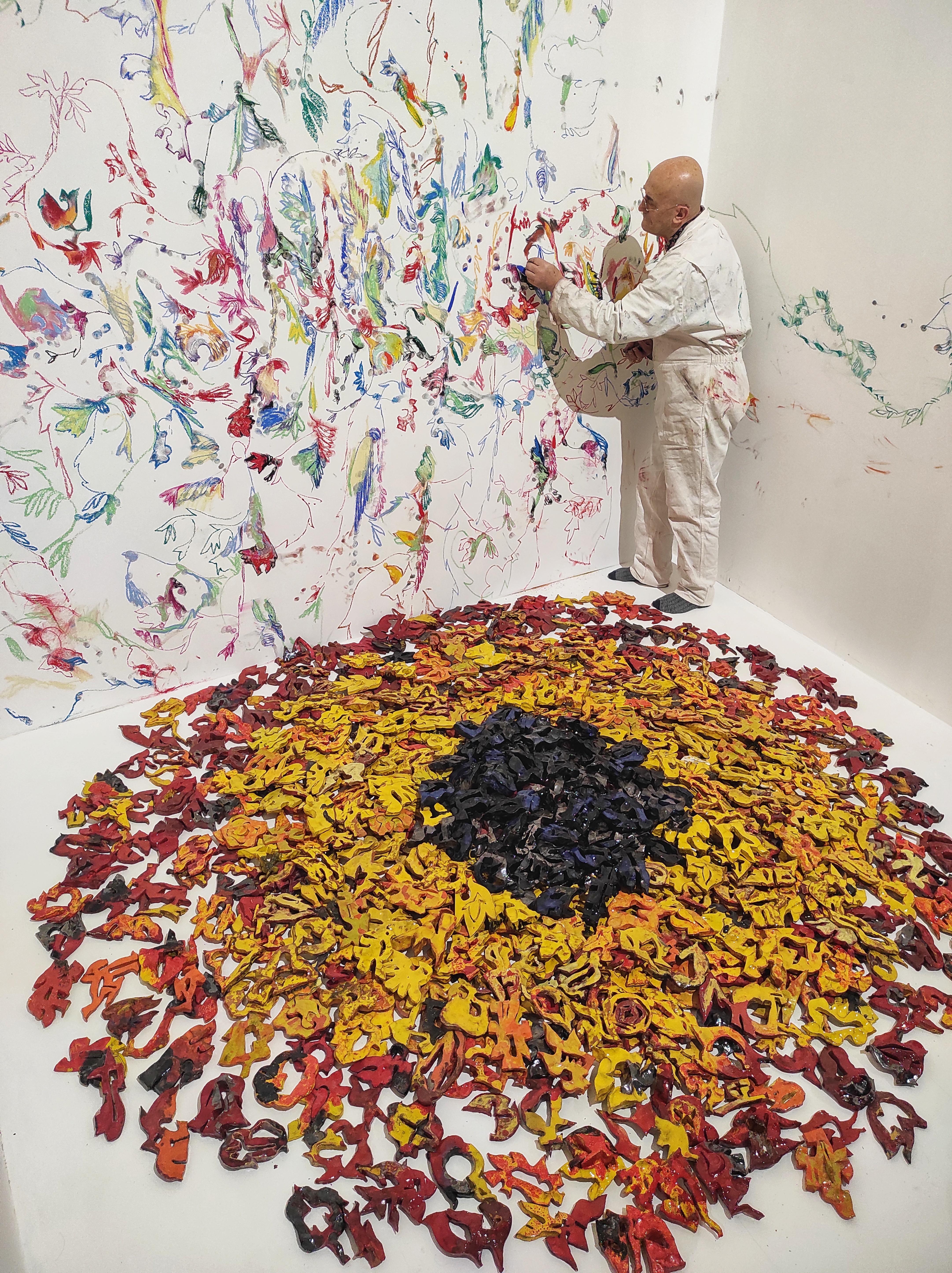 Peinture, dessin, sculpture... Jean-Pierre Formica est un artiste complet. Son exposition sur les deux étages de la Chapelle du Méjan promet d'être grandiose !