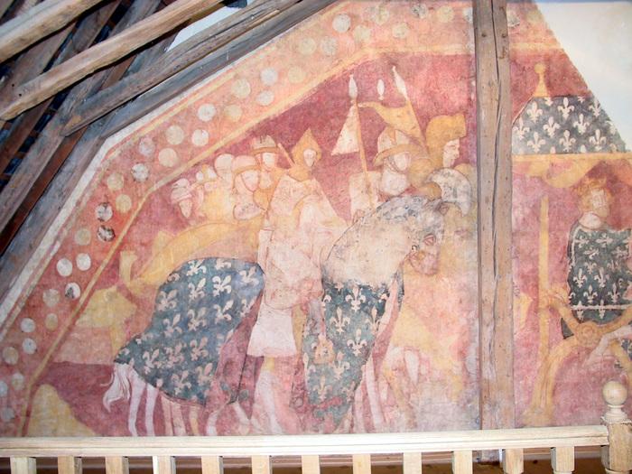 Journées du patrimoine 2019 - Fresque du Palais