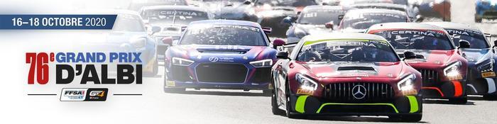 Le FFSA GT4 pour la première fois sur le Circuit d'Albi !