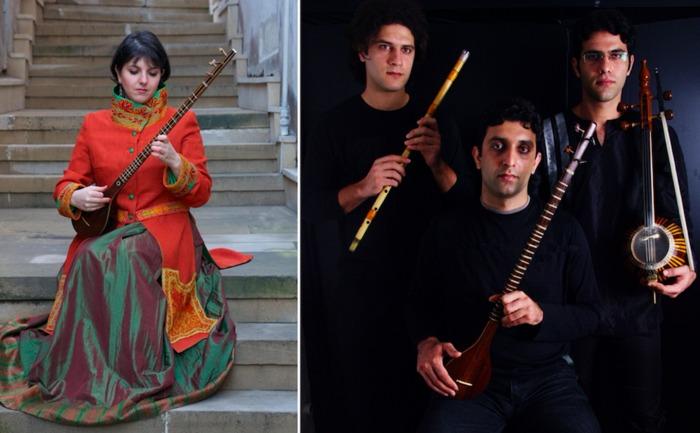 [ANNULE]  <strike>Sepideh Raissadat + Mani, Nima et Pouya Khoshravesh</strike>