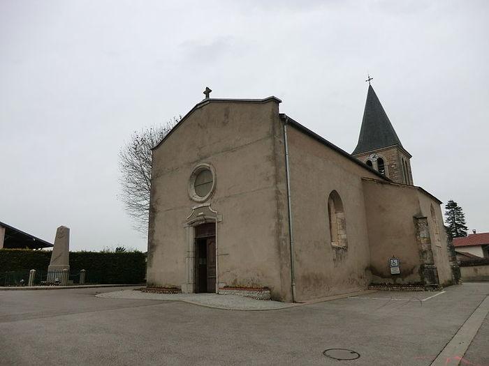 Journées du patrimoine 2019 - Eglise Saint Jean-Baptiste de Balan - visite libre