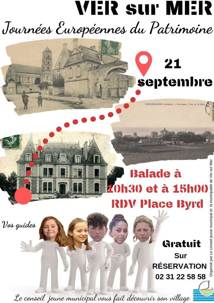 Journées du patrimoine 2019 - Balade guidée de Ver-sur-Mer
