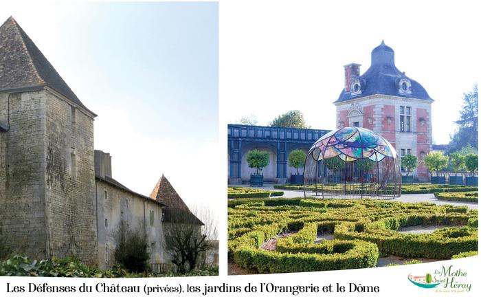 Journées du patrimoine 2019 - Autour du château disparu: découverte de l'orangerie et des défenses avancées