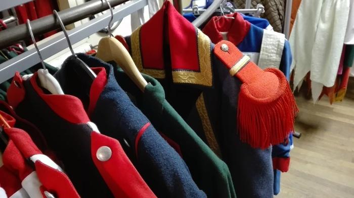 Journées du patrimoine 2019 - Découverte de l'atelier de confection des costumes historiques