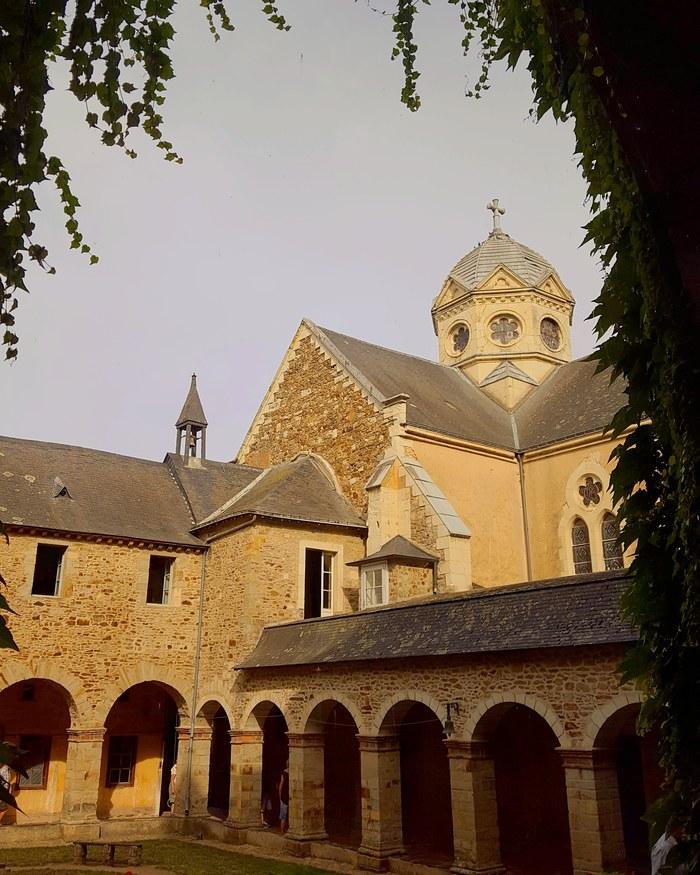 Journées du patrimoine 2019 - Visite guidée du cloître du monastère des Bénédictines