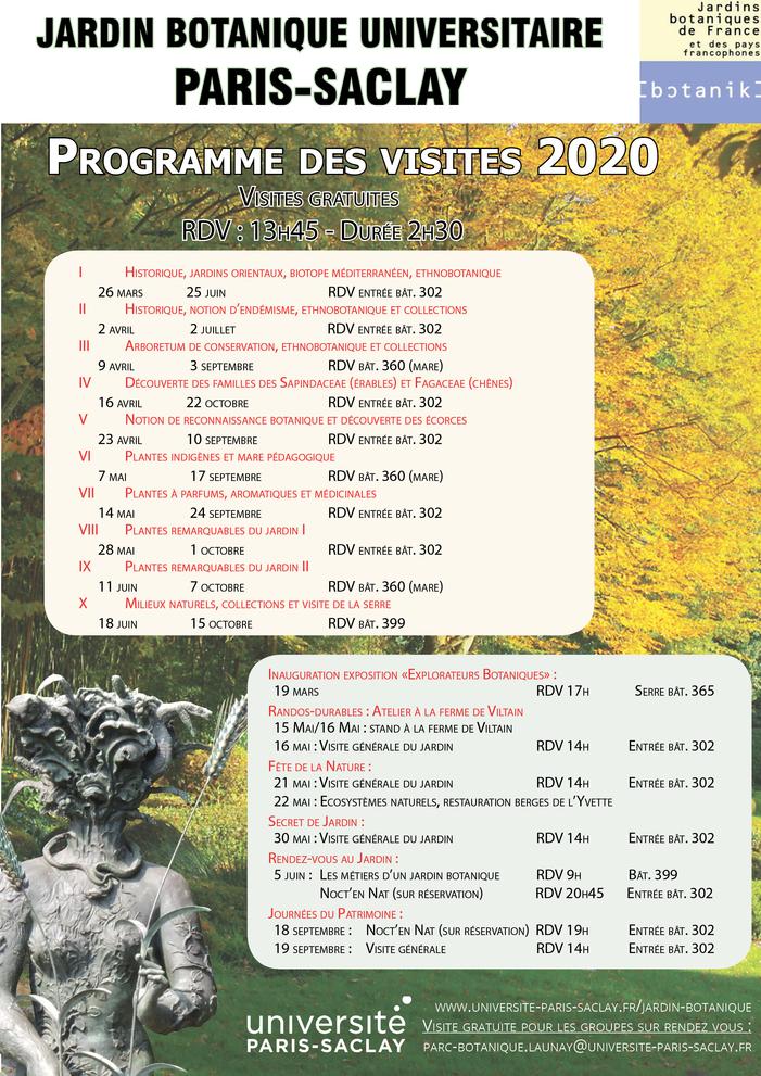 Randos Durables Visite guidée du jardin botanique Universitaire