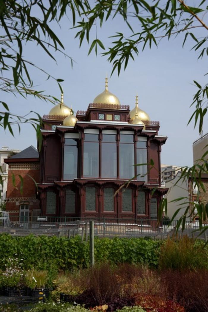 Journées du patrimoine 2019 - Visite du pavillon des Indes