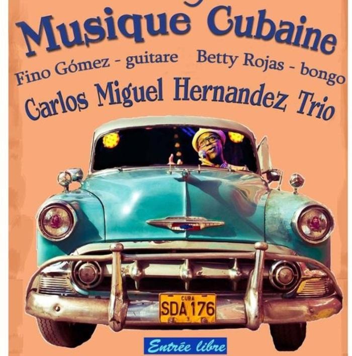Fête de la musique 2019 - Carlos Miguel Hernandez Trio