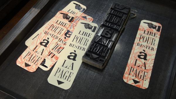 Nuit des musées 2019 -Atelier de composition typographique