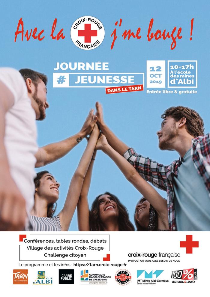 Journée Jeunesse  Manifestation « Avec la Croix Rouge, J'me bouge ! », Institut Mines Telecom, le 12 octobre, de 10h à 17h