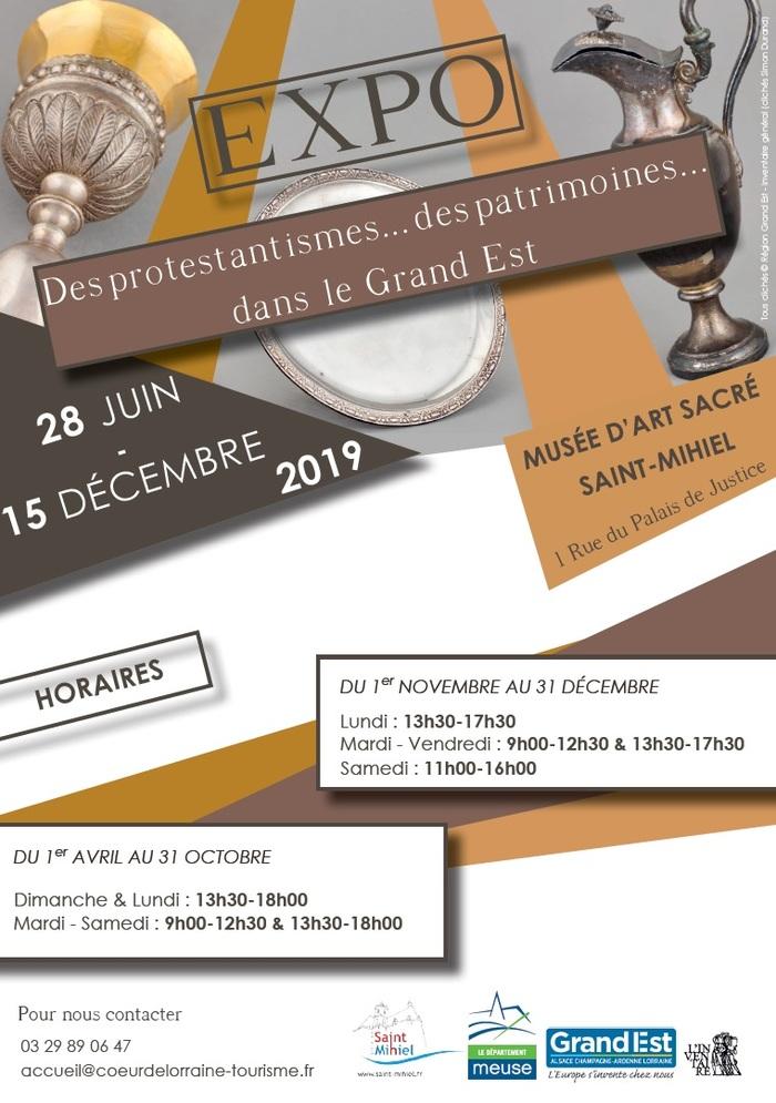 Journées du patrimoine 2019 - Exposition au Musée d'Art Sacré