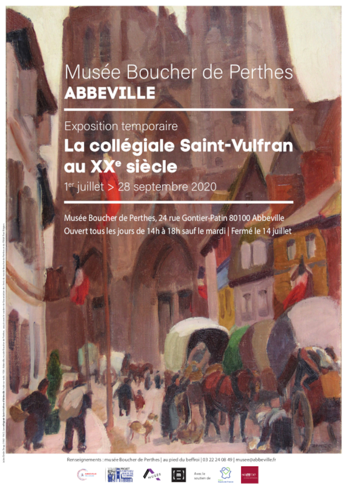 Journées du patrimoine 2020 - La collègiale Saint-Vulfran d'Abbeville au XXe siècle
