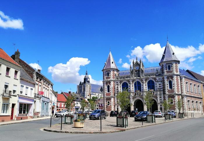 Journées du patrimoine 2020 - Balade architecturale et paysagère à Auxi-le-Château