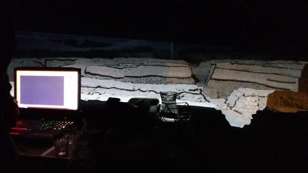 Nuit des musées 2019 -Projection : mapping vidéo sur les vestiges du forum