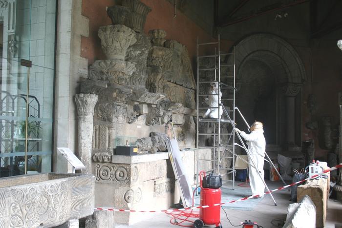 Journées du patrimoine 2019 - Les sculptures de Saint-Front restaurées !