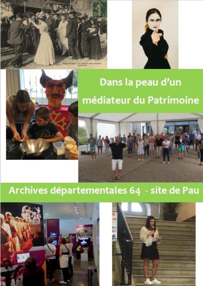 Journées du patrimoine 2020 - Dans la peau d'un médiateur du Patrimoine