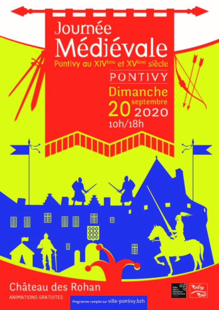 Journées du patrimoine 2020 - 5ème journée médiévale à Pontivy