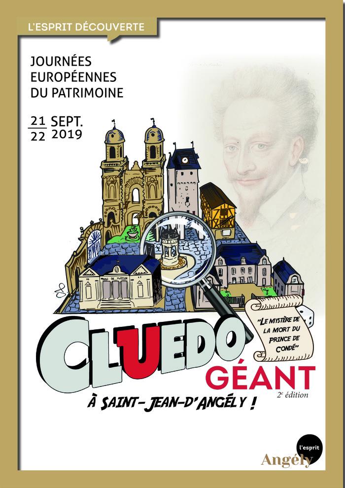 Journées du patrimoine 2019 - Cluedo géant : Le mystère de la mort du Prince de Condé