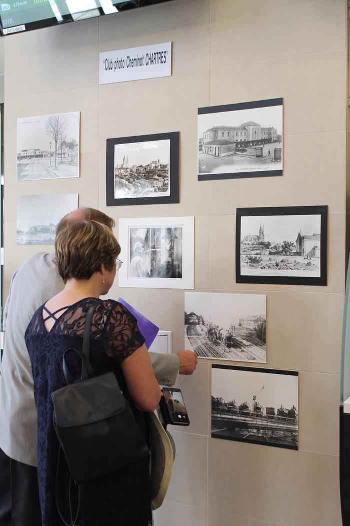 Journées du patrimoine 2019 - Exposition par le club photo cheminot de Chartres