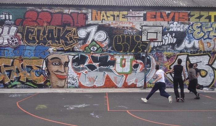 Atelier graffiti hors les murs