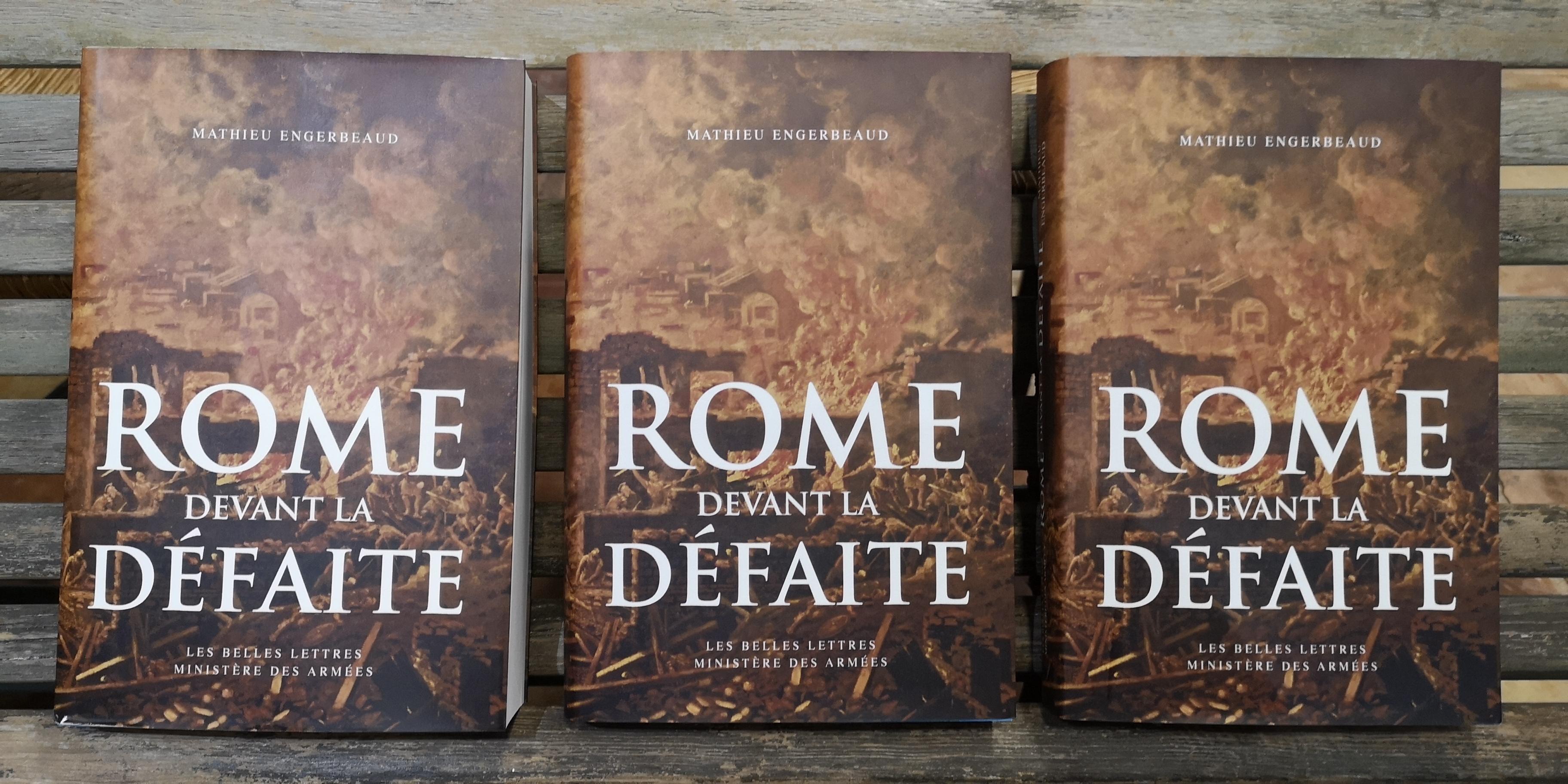 Invincible ? Mathieu Engerbeaud, historien, spécialiste de l'armée romaine, vient nous raconter, non les victoires, mais les défaites de cette armée romaine.