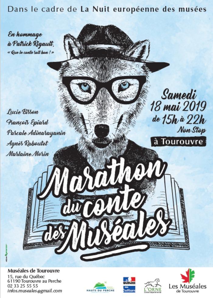 Nuit des musées 2019 -Le Marathon du conte franco-canadien des Muséales