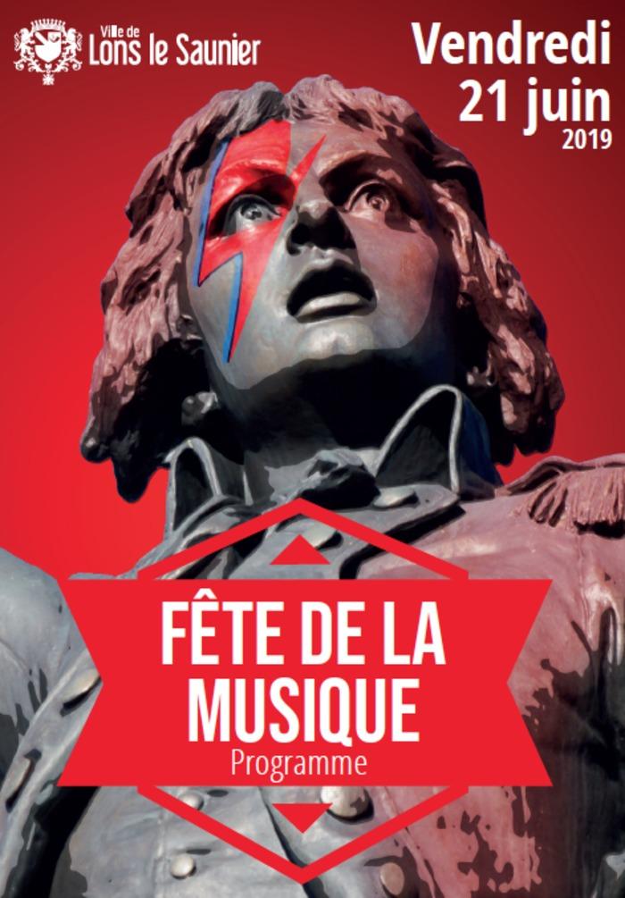 Fête de la musique 2019 - École de musique Patrice Joly: groupe Ted and P / Bysshe et Anapsida