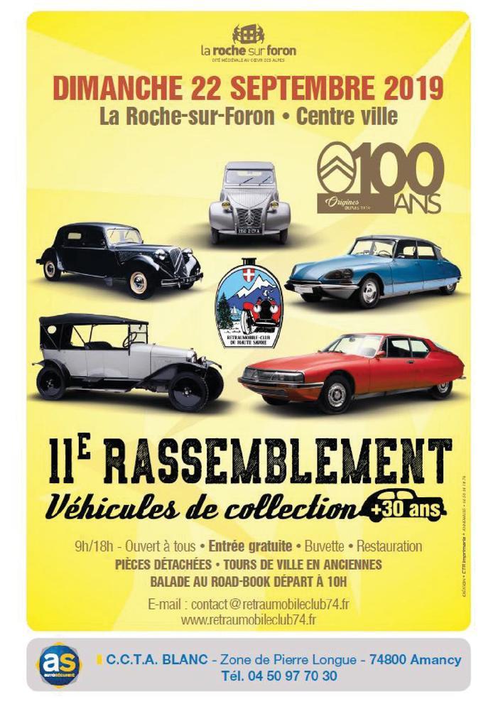 Journées du patrimoine 2019 - 11e Rassemblement de véhicules de collection