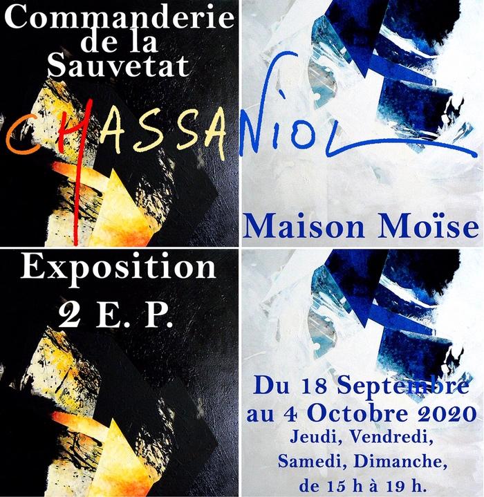 Journées du patrimoine 2020 - Exposition - Hervé Chassaniol  - Cristallisation