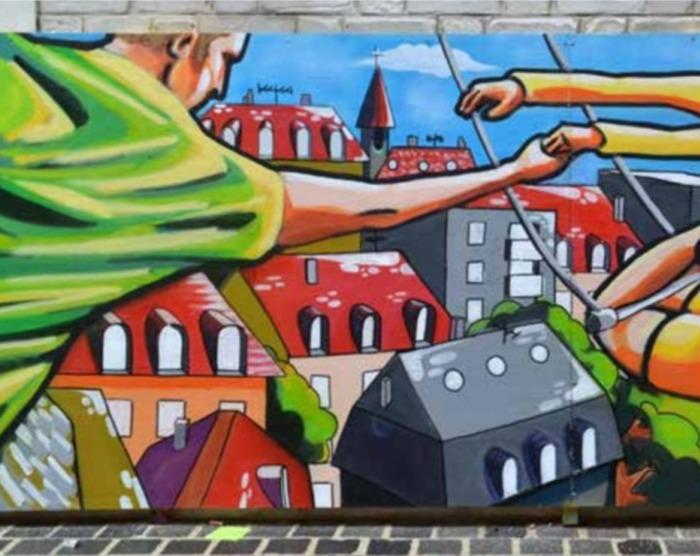 Journées du patrimoine 2019 - Atelier peinture et graff participatif