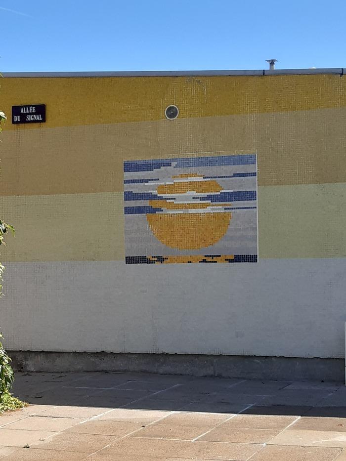 Journées du patrimoine 2020 - Visite commentée du patrimoine architectural et artistique d'un des quartiers de la Grande Borne, les Patios, organisé avec l'ASL des Patios