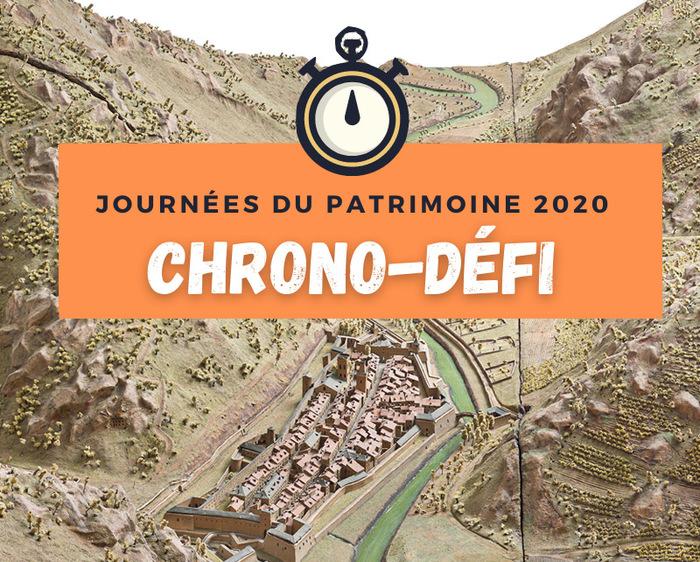 Journées du patrimoine 2020 - Chrono-défi :