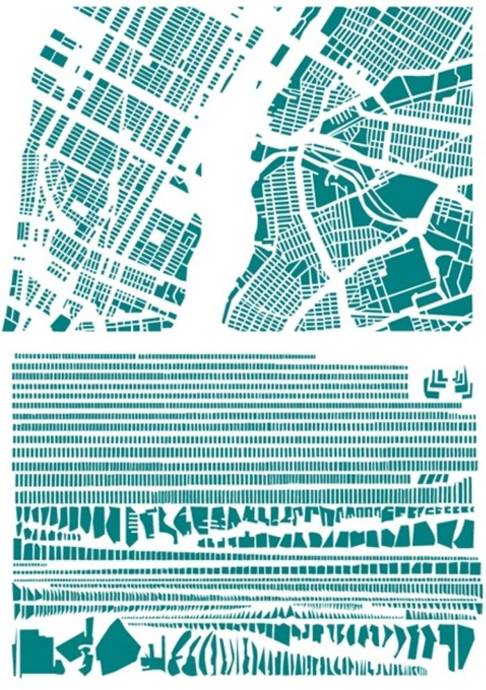 Le centre d'art Le Lait et les médiathèques du grand Albigeois invitent Armelle Caron à développer un travail autour de la carte et de la couleur