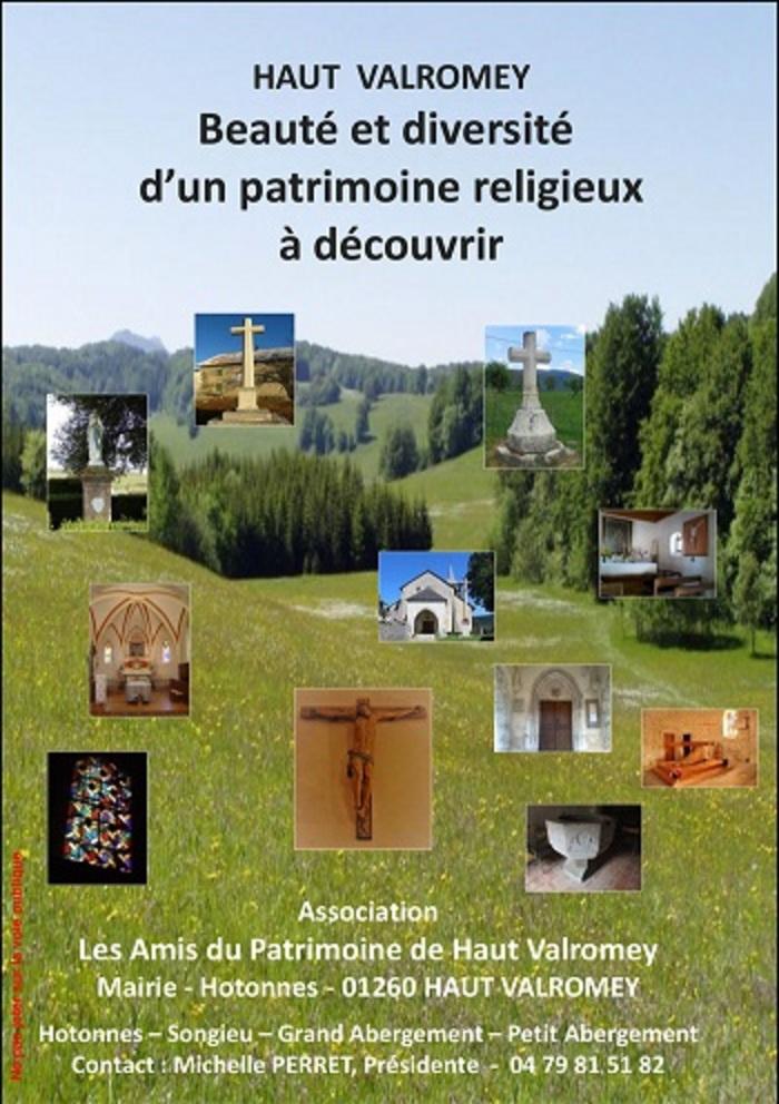 Journées du patrimoine 2020 - Visite libre des églises et chapelles de Haut-Valromey