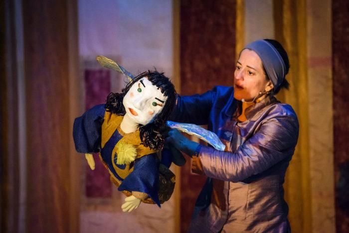 Contes et marionnettes portées à vue avec la compagnie Artémisia